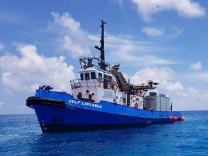 Tugboat Hire ǀ Support Vessel Gulf Explorer ǀ Tim North Marine