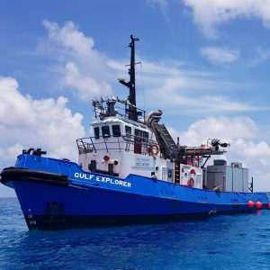 Tugboat Hire ǀ Support Vessel Gulf Explorer ǀ North Marine