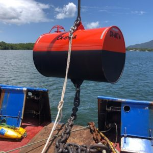 Cyclone Mooring Installation Cairns Trinity Inlet ǀ Commercial Dive Services ǀ Tim North Marine Boat Mooring Systems
