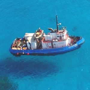 Offshore Supply Vessels Queensland providing remote area resupply and offshore support from Cairns