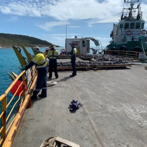Torres Strait Commercial Dive and Tug Boat Company North Marine Install a Boat Mooring