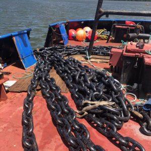 Boat Mooring Chain Suppliers ǀ Tim North Marine ǀ Vessel Mooring Fabrication & Installation Specialists