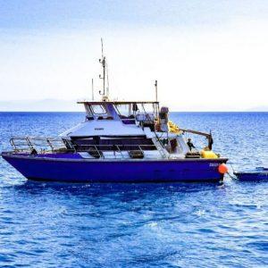 Support vessel charter dive boat Viking ǀ NorthMarine.com.au
